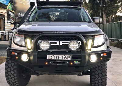 IRONMAN SINGLE LOOP RANGER BULLBAR PROGUARD